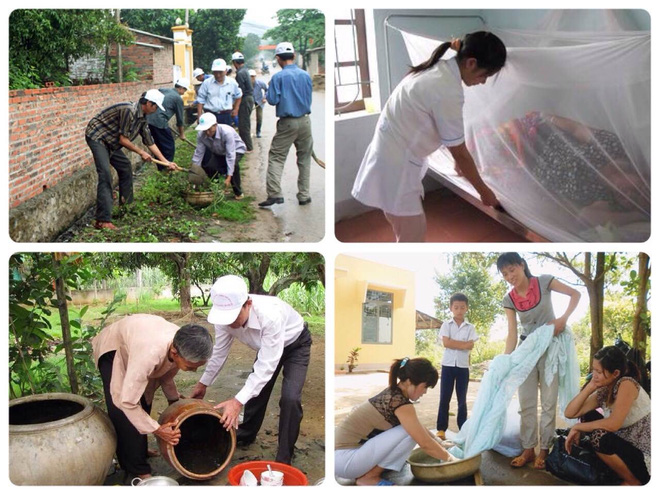 Hướng dẫn dọn vệ sinh nhà cửa phòng ngừa sốt xuất huyết