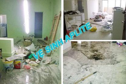 Dịch vụ vệ sinh nhà mới xây xong tại tphcm