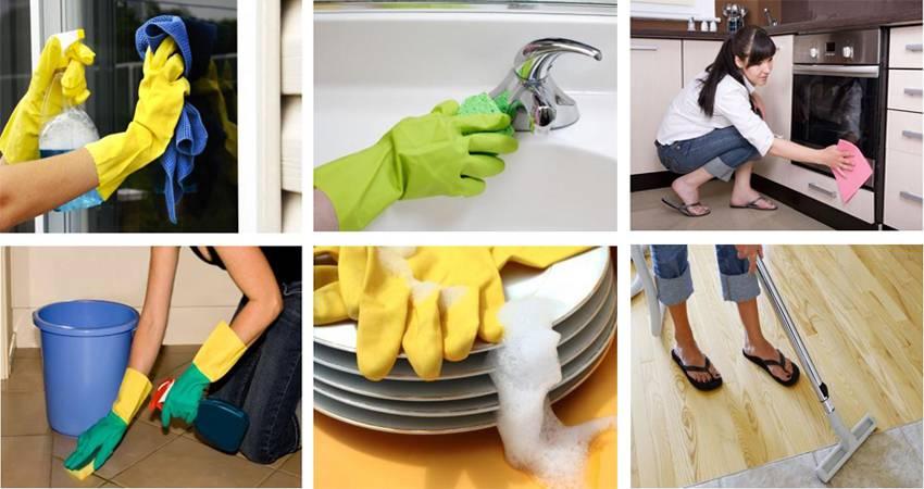 Dịch vụ vệ sinh nhà cửa tại Bình Dương