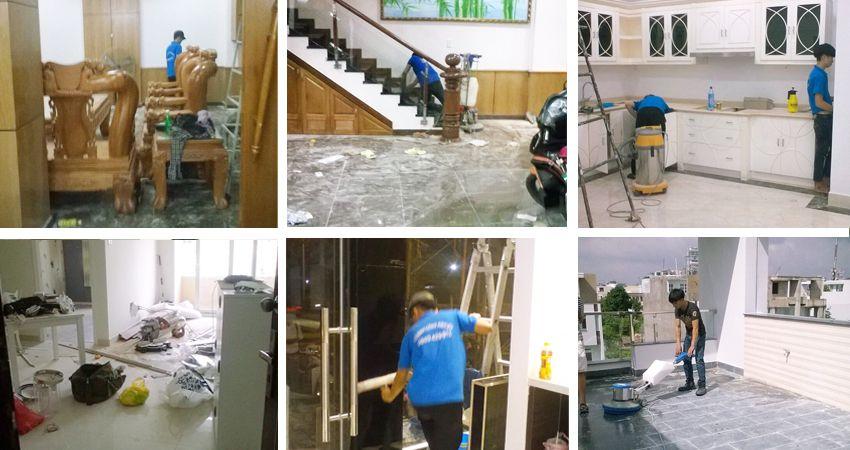 Dịch vụ vệ sinh sau xây dựng tại TP HCM