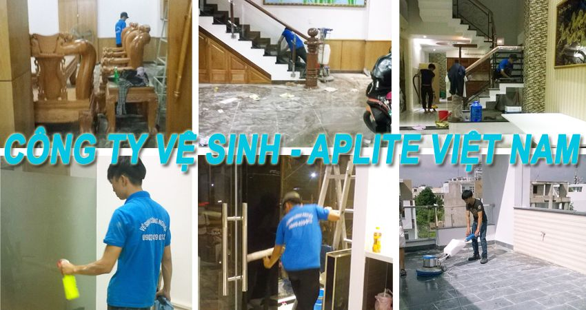 Dịch vụ vệ sinh nhà cửa tại Hóc Môn