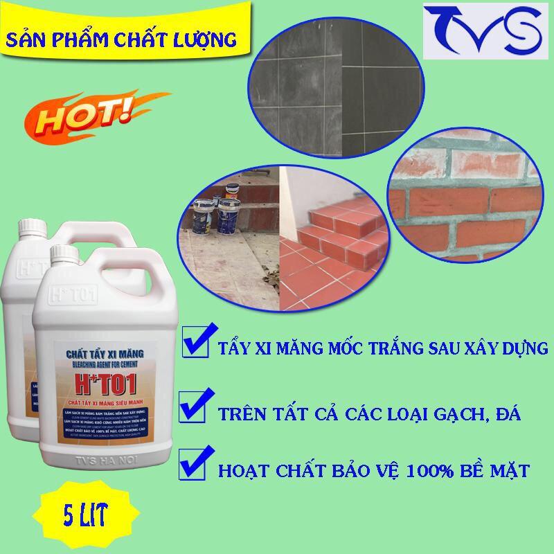 hóa chất tẩy xi măng H+T01
