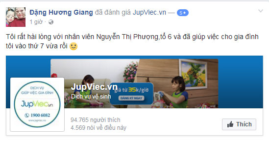 JupViec.vn có lừa đảo