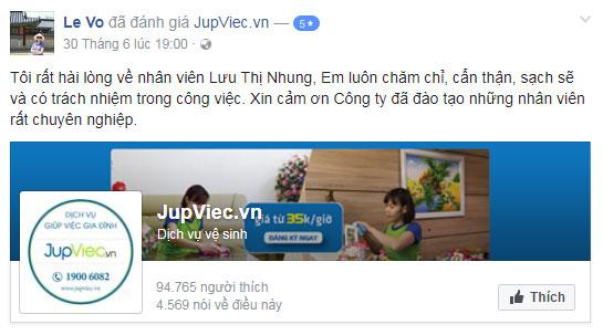 công ty JupViec.vn có lừa đảo