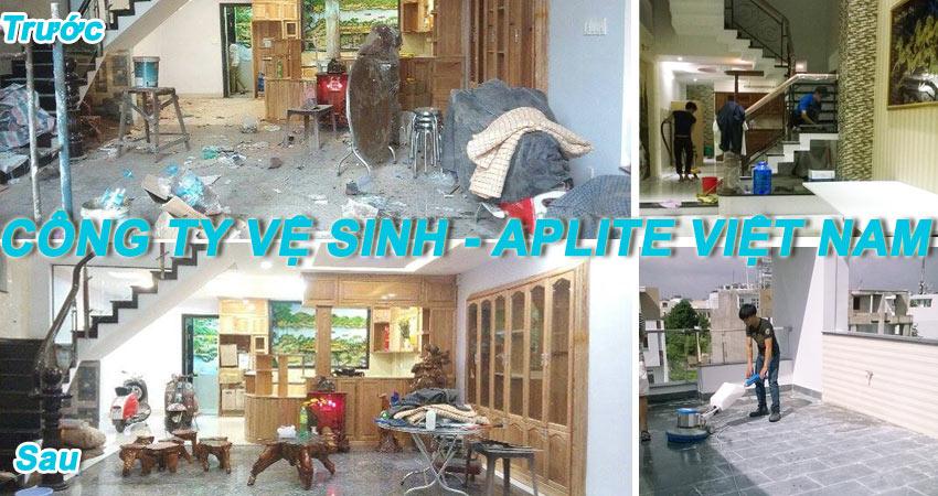 Dịch vụ vệ sinh nhà cửa tại quận Bình Tân