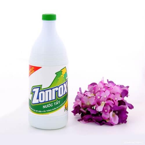 Nước tẩy trắng Zonrox