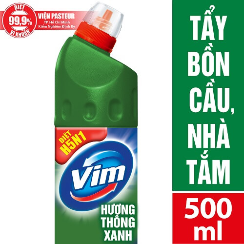 tẩy rửa bồn cầu vim 900ml