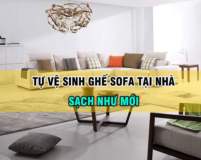 Cách làm sạch ghế sofa