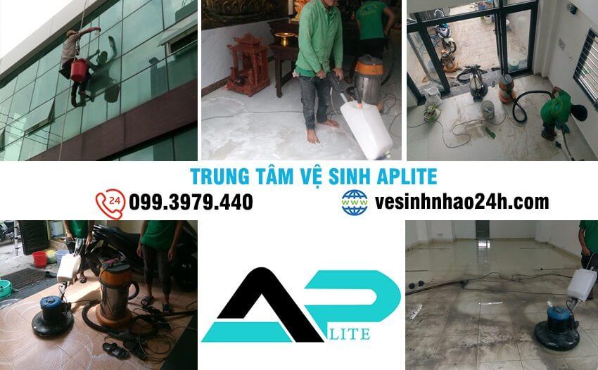 dịch vụ dọn vệ sinh nhà bị đáp sơn